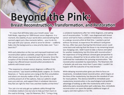 Beyond the Pink – Breast Reconstruction, Transformation and Restoration